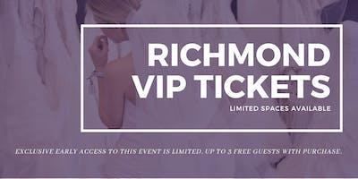 Richmond Pop Up Wedding Dress Sale VIP Early Access
