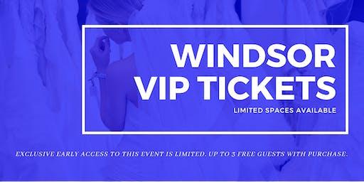 Windsor Pop Up Wedding Dress Sale VIP Early Access