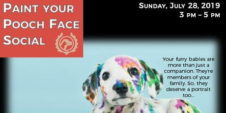 Paint Your Pooch Face Social tickets