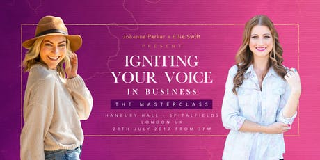 Igniting Your Voice in Business tickets