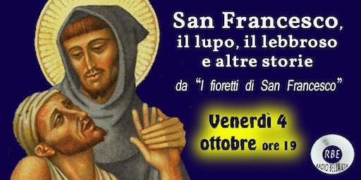 San Francesco, il lupo, il lebbroso e altre storie