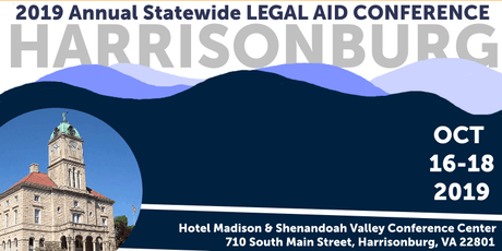 2019 Annual Statewide Legal Aid Conference - Legal Aid Office Registration tickets