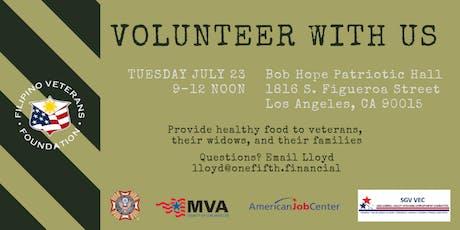 AIB2B Volunteers with Asian Veterans in LA tickets