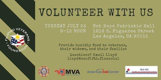 AIB2B Volunteers with Asian Veterans in LA
