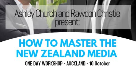 How to Master the NZ Media: Workshop tickets