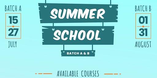 Summer School For Kids (Batch A)
