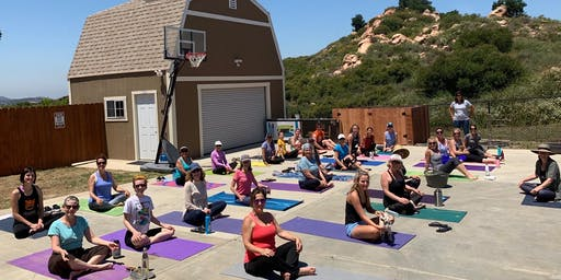 Goat Yoga at Coyote Rock Ranch
