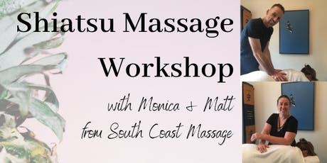 Shiatsu Massage Workshop tickets