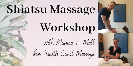 Shiatsu Massage Workshop