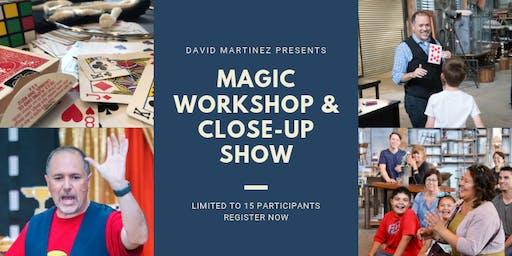 Magic Workshop & Close-Up Show
