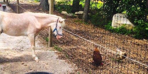 Unity Farm Sanctuary Tour (September 21st)(1pm)