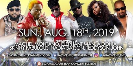Six Flags Caribbean Concert Series Bus Ride tickets