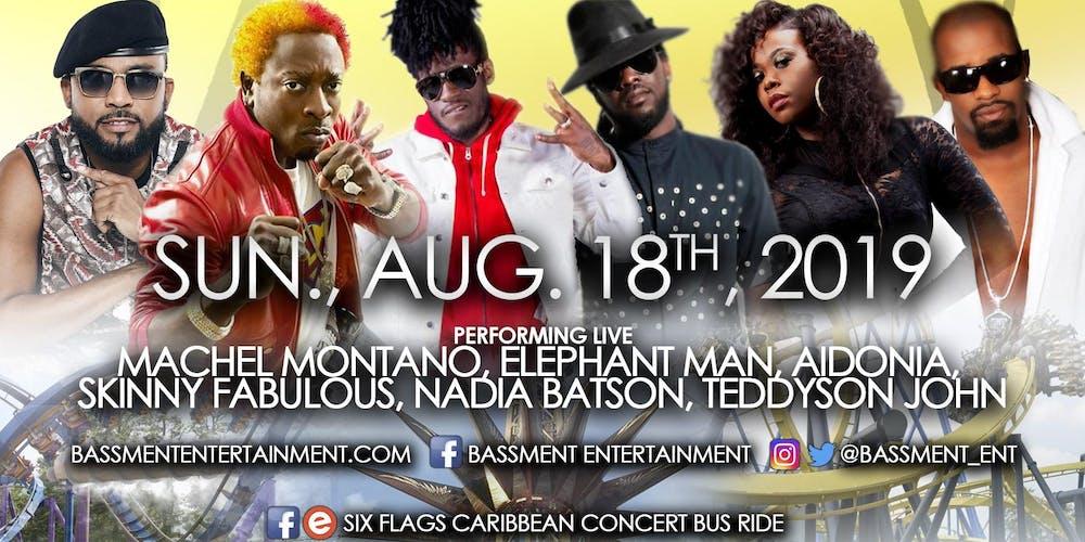 Six Flags Caribbean Concert Series Bus Ride
