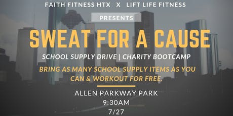 BACK TO SCHOOL BOOTCAMP | SUPPLY DRIVE tickets