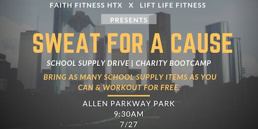 BACK TO SCHOOL BOOTCAMP | SUPPLY DRIVE