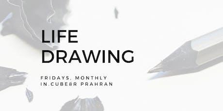 Life Drawing at in.cube8r Prahran (September) tickets