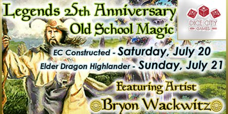 Legends 25th Anniversary Weekend: Old School & EDH tickets