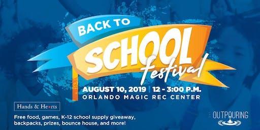 Back To School Festival