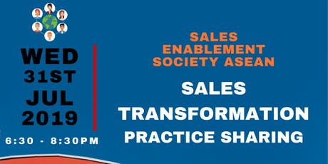 Sales Transformation: Practice Sharing and Workshop tickets