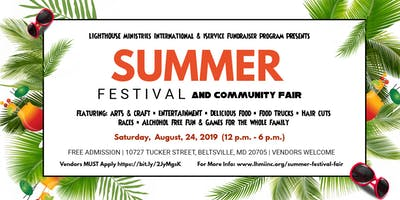 Summer Festival & Community Fair 2019