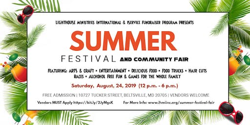 Summer Festival & Community Fair 2019