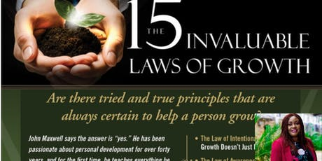 15 Invaluable Laws of Growth Mastermind Programme  tickets