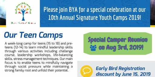 Mindful Leadership Youth Summer Camp