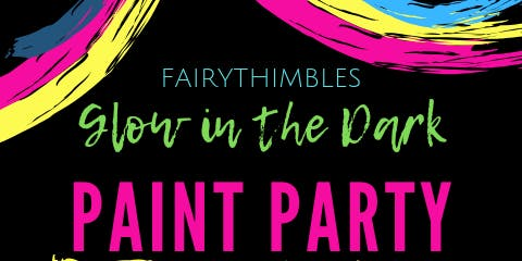Glow In the Dark Paint Party