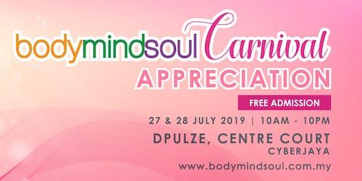 "bodymindsoul Carnival ""Appreciation"""