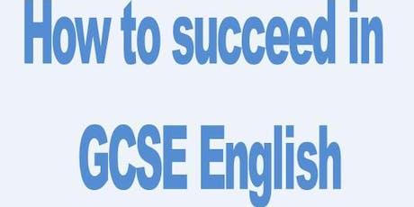 GCSE Summer School - English Paper 1: Creative Writing (narrative and descriptive) tickets
