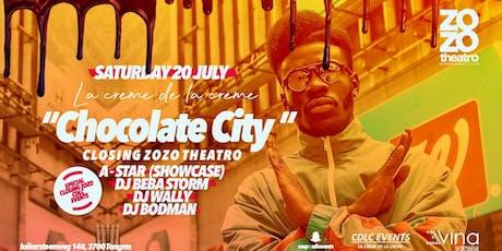 CLOSING ZOZO X A-STAR EN SHOWCASE X CHOCOLATE CITY tickets