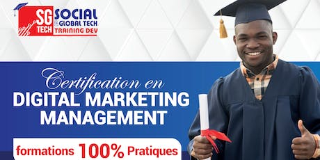 Rentrée  Officielle De la certification en Digital Marketing Management billets
