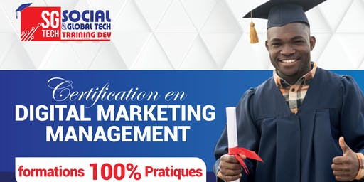 Rentrée  Officielle De la certification en Digital Marketing Management