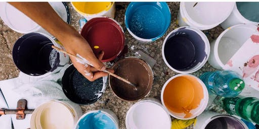 Arty Weekends at Freo - Paint Pouring Workshop