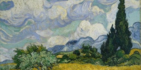 @Enfield: Fabulous Fakes -- Wheat Field by van Gogh