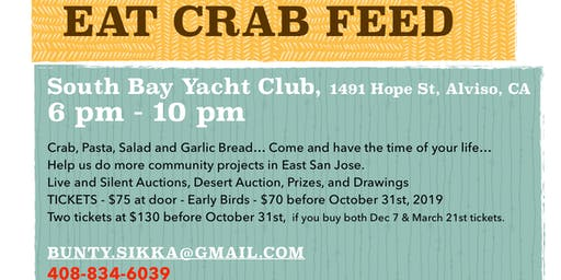 All you can Eat Crab Feed