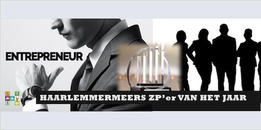 Uitreiking ZP-ondernemersprijzen Haarlemmermeer 2019