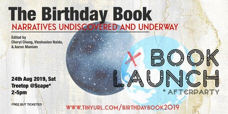 The Birthday Book 2019: Book Launch + Afterparty tickets