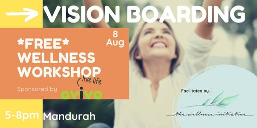 FREE Vision Boarding Workshop - Mandurah