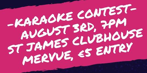 Karaoke Contest Fundraiser