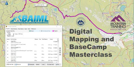 Digital Mapping and BaseCamp Masterclass for GPS Navigators tickets
