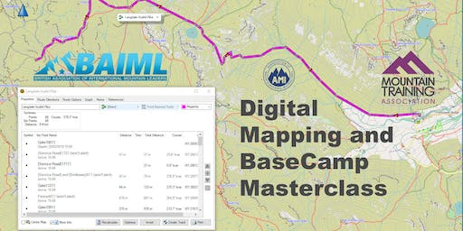 Digital Mapping and BaseCamp Masterclass for GPS Navigators