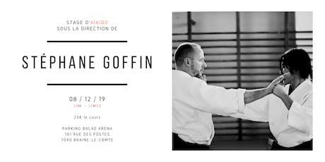 Stage d'Aïkido de Stéphane Goffin au Togishi Dojo billets