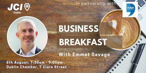 Business Breakfast with Emmet Savage