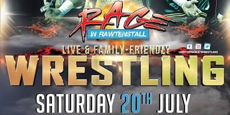 LIVE Pro Wrestling in Rawtenstall - Rage In Rawtenstall tickets
