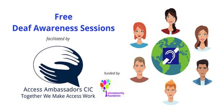 Deaf Awareness Sessions tickets