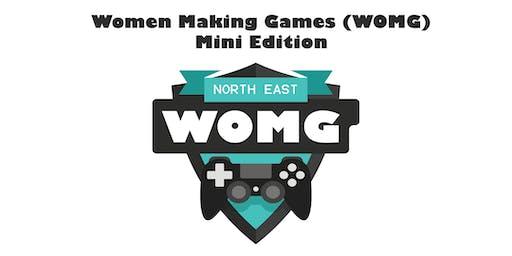 Women Making Games (WOMG) Mini Edition - Sunderland