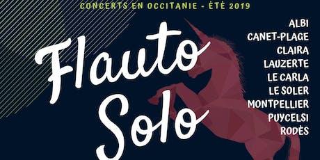 Flauto Solo Été 2019 - Aline Bieth - Montpellier billets