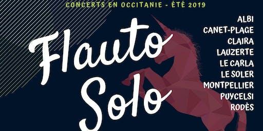 Flauto Solo Été 2019 - Aline Bieth - Montpellier