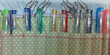 CHRISTMAS MAKING DAY - Pencil / Pen / Crochet Hook Roll tickets